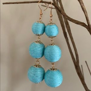 BOGO! Yarn Wrapped Ball Earrings